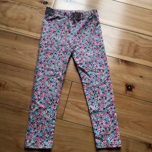 Carters flowers leggings